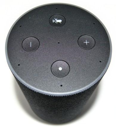 Parte superior de Amazon Echo