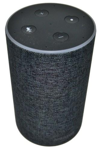 Vista del altavazo Amazon Echo