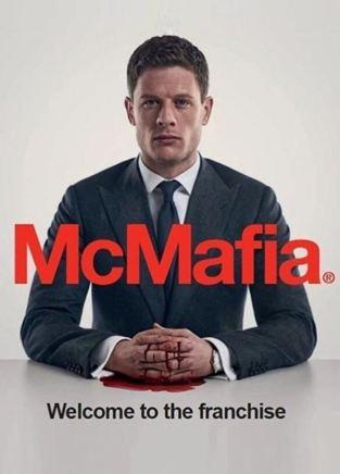 Carátula de la serie McMafia con la foto de su protagonista