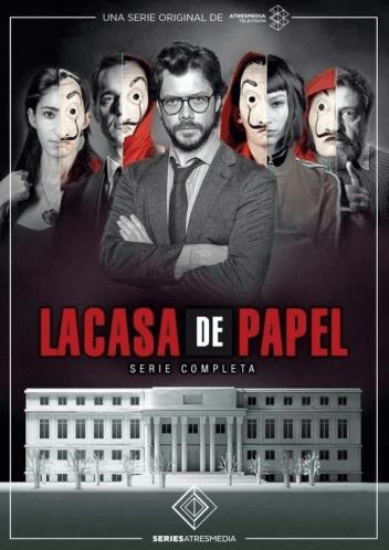 Carátula de la serie La casa de papel
