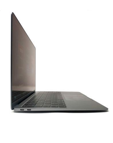 Vista del MacBook Air con la pantalla abierta 90 grados