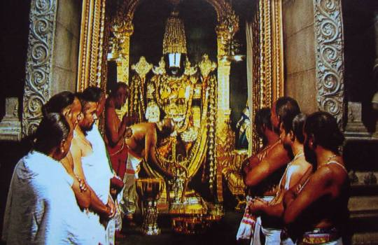 Lord Sri Venkateswara And The Temple Priests