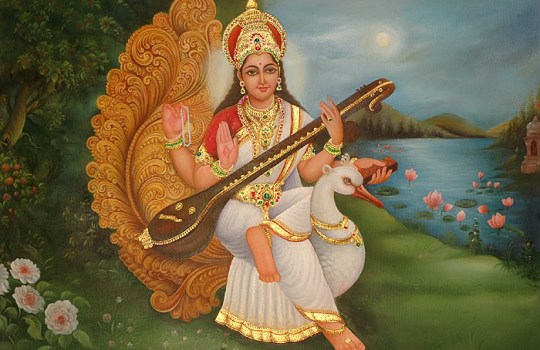Goddess Sri Saraswathi Devi