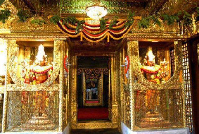The Current Day Bangaru Vakili Of The Holy Tirumala Temple