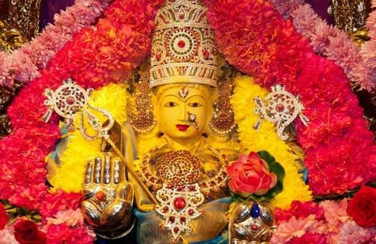Hindu Goddess Aadi Parashakthi