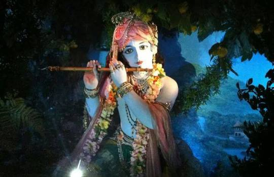 Holy Hindu Lord Krishna