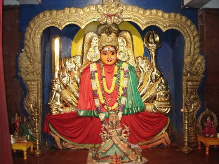 Holy Goddess Kanaka Durga