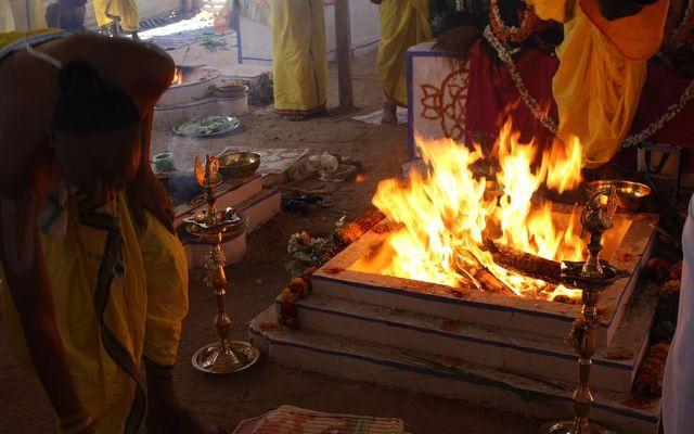 Sacred Yagna Kundam