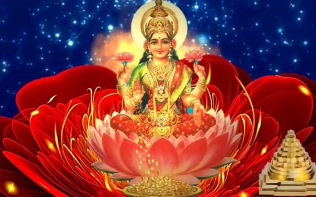 Goddess Sri Dhana Lakshmi