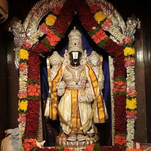 Holy Lord Sri Venkateswara