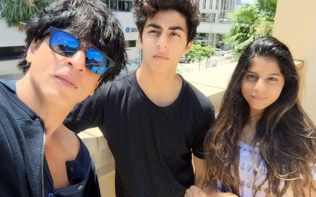 Sharukh Khan And His Family