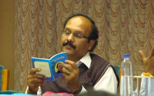 Sriram Sir Reading a Book
