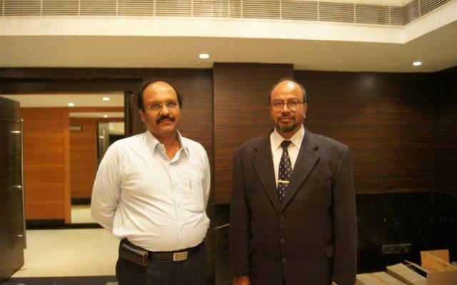 Sriram Sir With Prof. Pratap Sundar