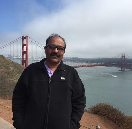 Sriram Sir At The Golden Gate Bridge