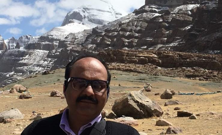 Sriram Sir At The Manas Sarovar