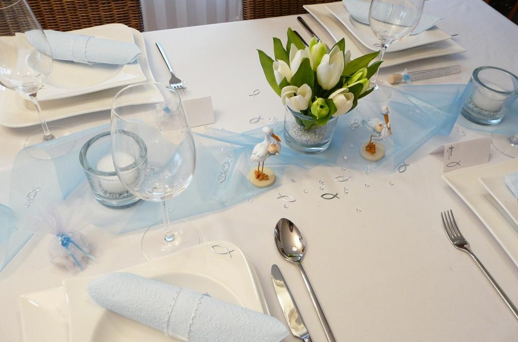 Tischdeko Taufe Ideen Dekoration Photos