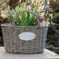 Pflanzkorb Gartendekoration