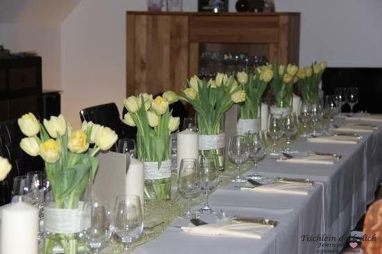 Goldhochzeit Tischdeko Tischdekoration