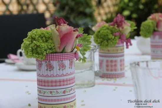 Tischdeko Geburtstagstisch Tischdekoration