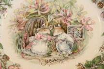 Tischdekoration mit Porzellan von Bramley Hedge