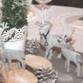 Wintermaerchen Tischdekoration rustikal