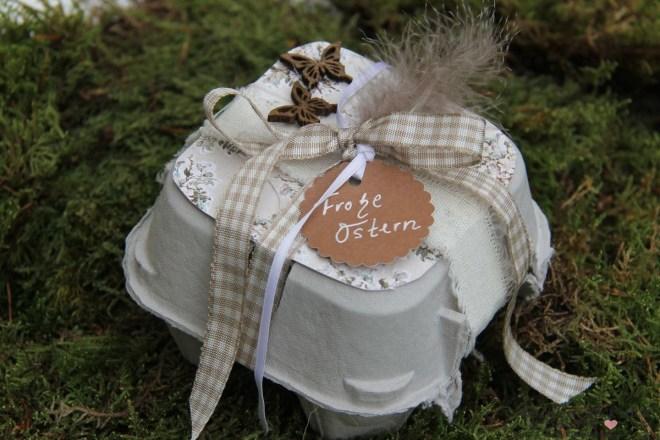 Ostergeschenk im Eierkarton