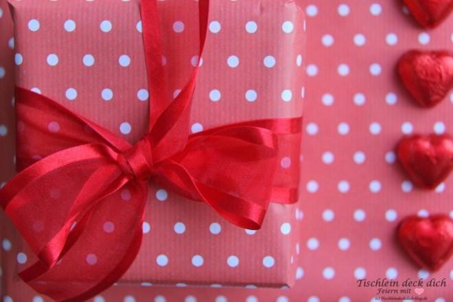 Valentinstag Geburtstagsgeschenk Schleife