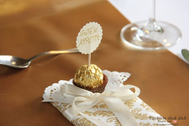 Goldhochzeit Ferrero Rocher