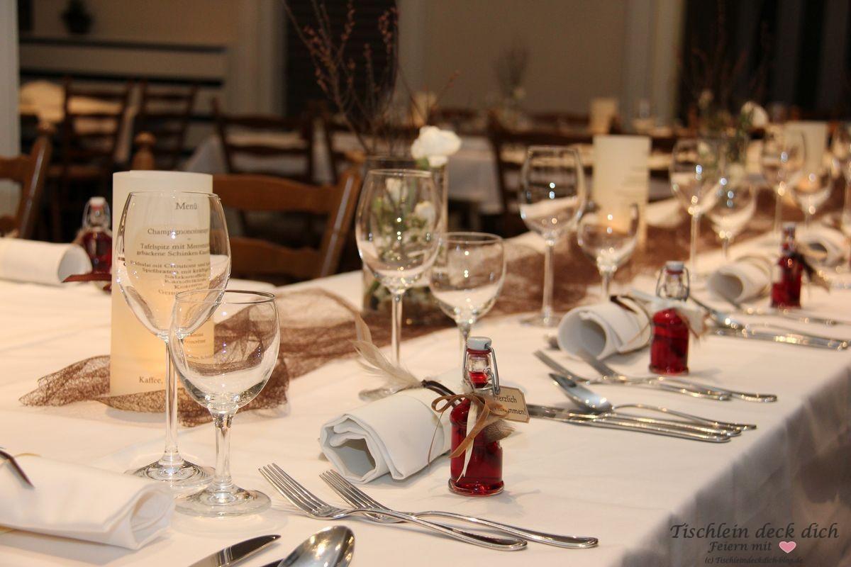 Tischdekoration Zum 70 Geburtstag Tischlein Deck Dich