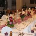 70. Geburtstag Tischdekoration