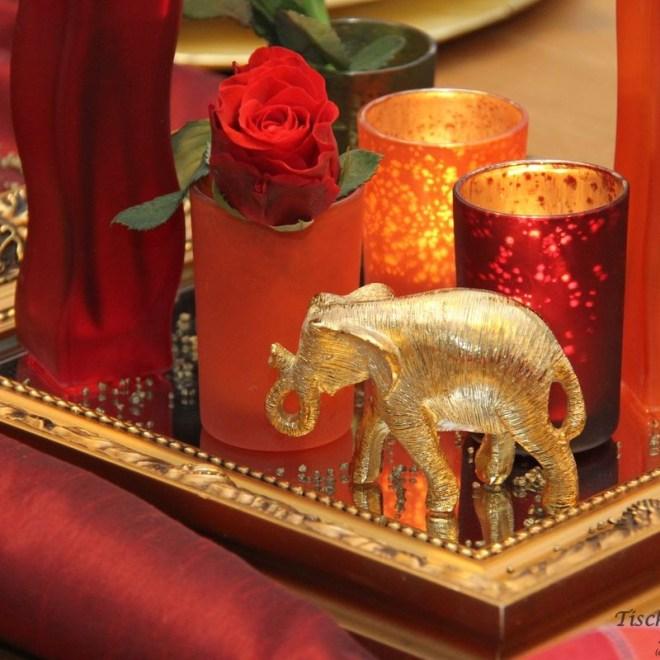 tuerkisch orientalische Tischdeko