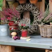 Das geht fix No. 18 - Herbstdeko mit Heidekraut für unseren Pflanztisch