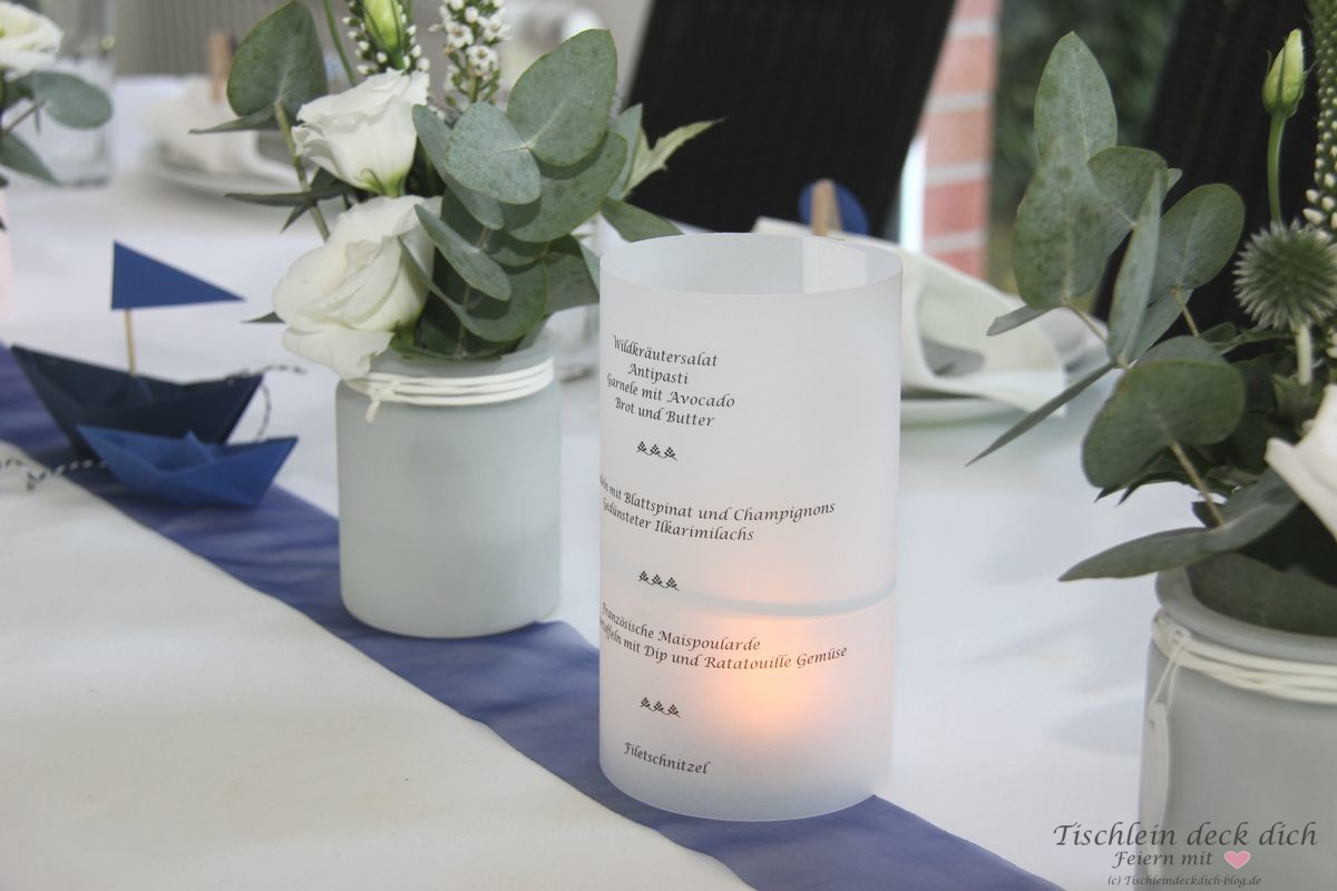 6 Tischdekoideen Für Die Kommunion Konfirmation Oder Taufe