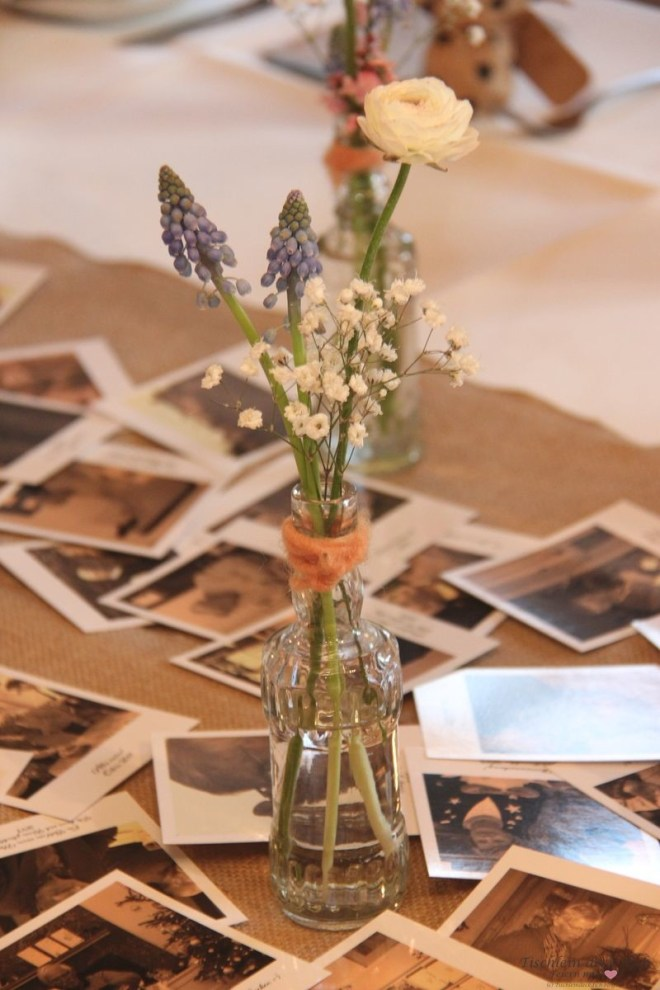 Blumendeko zum 80. Geburtstag