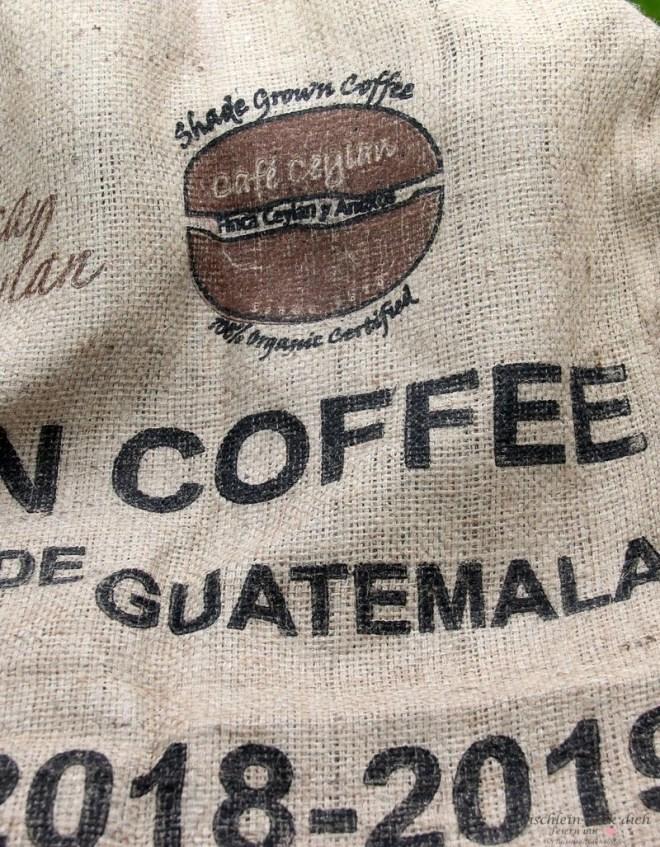 Kaffeesack Motiv