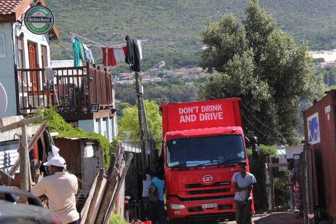 Townships in Kapstadt- Südafrika