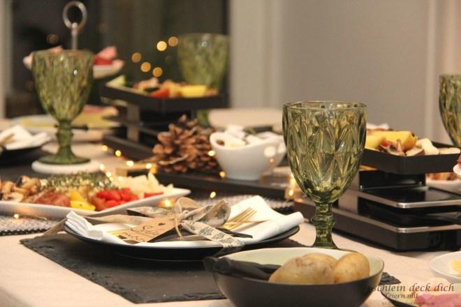 Tipps für die Tischdekoration beim Raclette