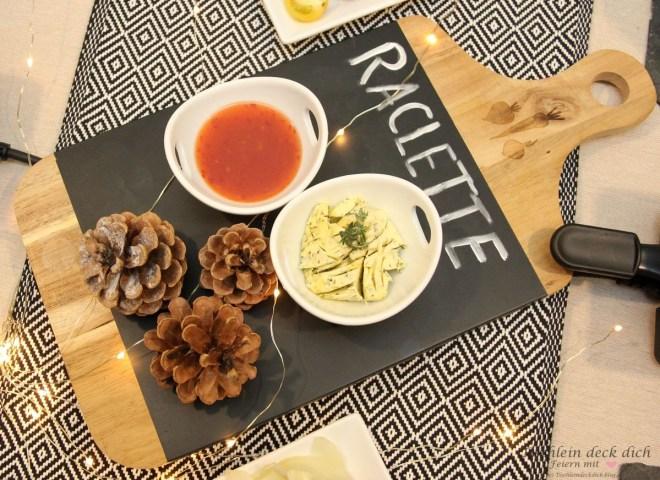 Raclette Ideen und Tipps für die Tischdekoration