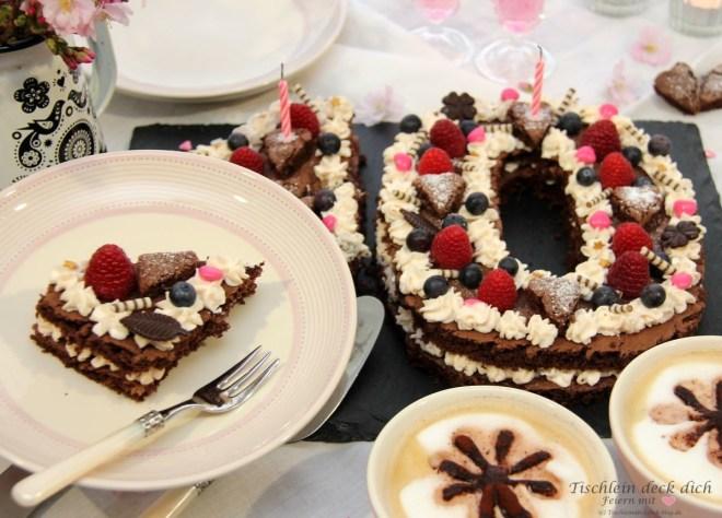 Tischlein deck dich Blog Geburtstagskuchen zum 10jährigen