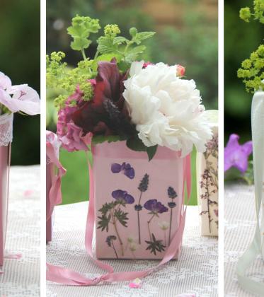 Trockenblumen DIY