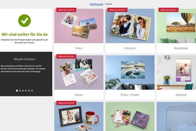 Screenshot Saal Digital