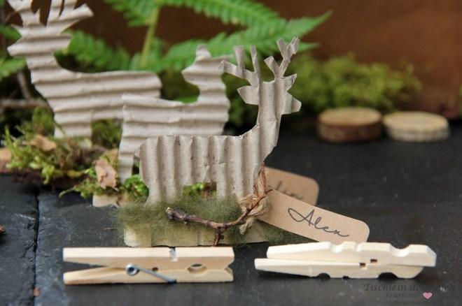 Basteln mit Holzwaescheklammern