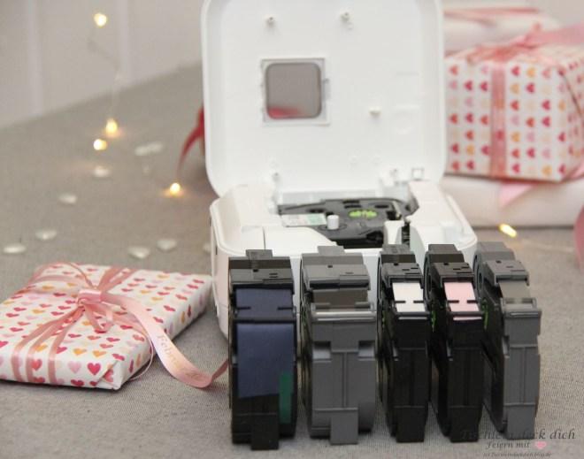 Organisiert durch den Alltag mit dem P-touch Cube Plus von Brother