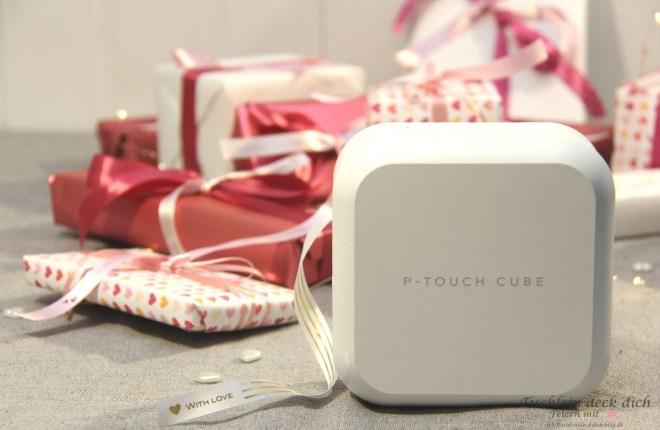 Hochzeitskalender basteln mit dem P-touch Cube plus von Brother