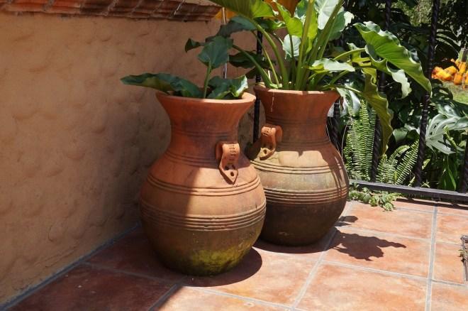 Terracotta für die Terrassengestaltung