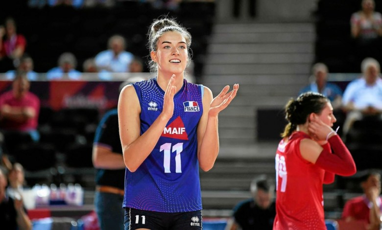 volley : Equipe de France, interview exclusive de Lucille Gicquel