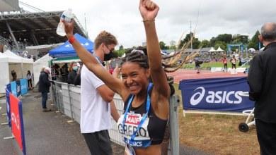 Shana Grebo vice-championne d'Europe du relais 4X400m
