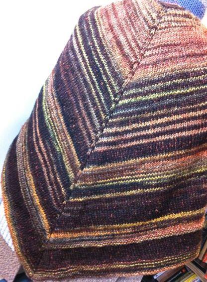 Châle en laine et soie