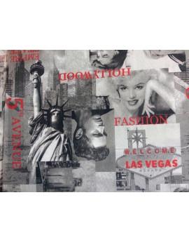 tissu ameublement vintage hollywood tissu max