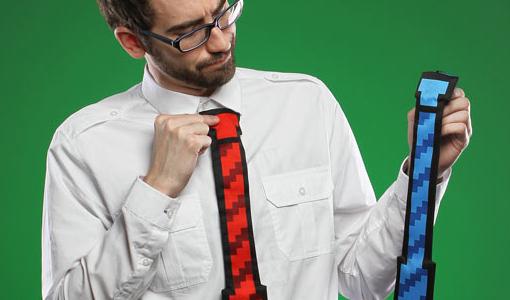 cravatta 8bit